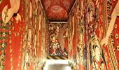 ベゼクリク石窟寺院復元展示